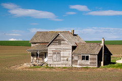 Abandoned House (Olaf Sztaba) Tags: house washington palouse