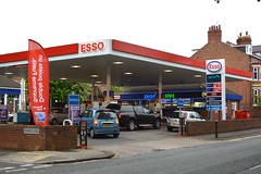 Esso, Darlington. (EYBusman) Tags: road county station shop drive durham n mobil gas darlington service petrol gasoline total esso grange humble filling exxon enco eybusman