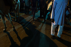 """ Shadows Everywhere "" (ahijitnag) Tags: light shadow people horse india white man west colour kids lady dark photography 50mm nikon 18 kolkata bengal puja durga nag siliguri ahijit d3100"