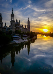 Zaragoza Time (Jordi TROGUET (Thanks for 1,923,800+views)) Tags: travel sun pilar el zaragoza 1001nights pilarica jtr supershot superphotos travelerphotos platinumheartaward troguet jorditroguet artofimages 1001nightsmagiccity