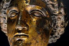 Goddess (Iago Diogenes) Tags: uk travel england rome tourism statue gold golden nikon bath europe roman goddess baths