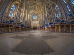 """Live Each Day As If It Were Your Last. (Wizard CG) Tags: bristol cathedral hdr uk architecture gothic college green olympus epl7 ngc world trekker micro four thirds 43 m43 mzuiko digital ed tourist attraction light windows church building indoor samyang fisheye 75mm f35 lens"