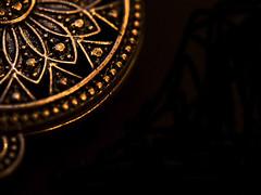 Made of metal (Pixel_peeper) Tags: macromonday madeofmetal pendant jewellery shiny olympus 60mm
