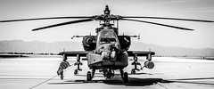 The beast (DST-photography) Tags: helicopter aviation aircraft airplane plane landing takeoff airport goodyear phoenix valley usa ameria arizona epic dramatic black white bw cool us airforce guns missle kgyr pilot trainee daan steinhaus dstphotography aviatioin
