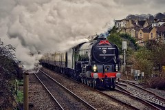 Resurrection of a bygone era (Nige H (Thanks for 7.5m views)) Tags: train steamtrain steam tornadosteamlocomotive locomotive thestdavid bath
