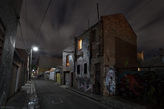 Past Lives (Ranga 1) Tags: street longexposure nightphotography urban building night canon streetlight alone loneliness nocturnal fitzroy australian australia melbourne victoria bleak suburbs lonely australianlandscape urbanlandscape nightexposure davidyoung ef1740mmf4lusm innersuburbs littlesmithstreet canoneos5dmarkii littlesmithstreetfitzroy