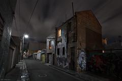 Past Lives (Ranga 1) Tags: street longexposure nightphotography urban building night canon streetlight alone loneliness nocturnal fitzroy australian australia melbourne victoria bleak suburbs lonely australianlandscape urbanlandscape nightexposure davidyoung ef1740mmf4lusm innersuburbs littlesmithstreet canoneos5dmarkii littlesmithstreetfitzroy