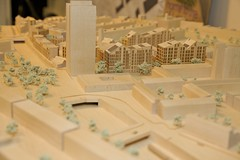 Demolition fun day - model of the new development (camdenphotos) Tags: family london community camden regeneration gospeloak londonboroughofcamden