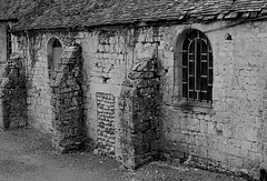 Giverny, France (M.Franke) Tags: street old bw france film analog ruin ruine versailles analogue giverny curch leicam3 elmar5028