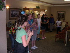 5th Grade Club Visits The Pointe (The Pointe at Kilpatrick) Tags: children entertainment alzheimers activities nursinghome affordablehousing affordable seniorhousing assistedliving seniorliving seniorcare supportiveliving thepointeatkilpatrick crestwoodil