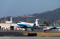 USAF VC-37A 97-040099th AS Andrews AFB (KSBD Photo) Tags: airport andrews bur wing burbank usaf aerospace 89th bobhope gulfstream afb airlift 99th as c37 kbur 970400 vc37a vc37