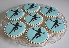 Peter Pan Graduation Cookies