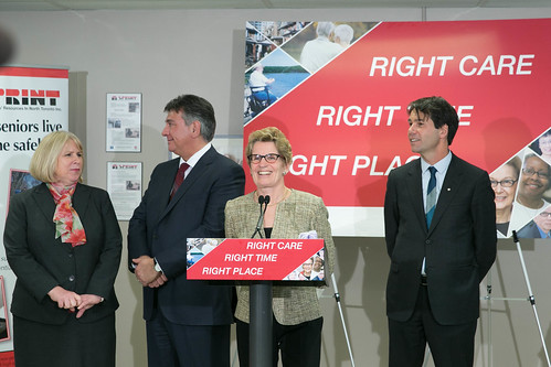 Premier Wynne's Press Conference - 140 Merton - April 2013 (3)