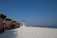 yet no season (Sabinche) Tags: lighthouse beach dune helgoland beachchair heligoland