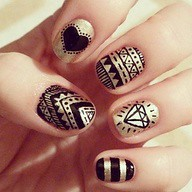 Trendy Nails - Diamo (fashionalic) Tags: fashion nicole dress parry nails trendy fashionable streetstyle diamo