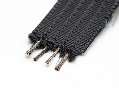 Conductive thread ribbon cable - Black - 1 yard (adafruit) Tags: wearables 1424 adafruit