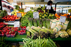 . (aubreyrose) Tags: travel venice italy food green market greenmarket mercato rialto