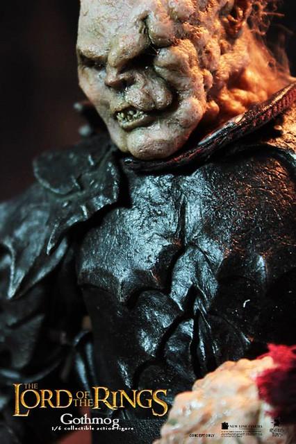 Asmus Toys魔戒系列第二彈半獸人指揮官葛斯摩