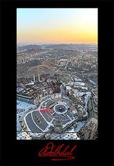 منظر عام للحرم المكي الشريف (Adel Hilal عادل الهلال) Tags: من برج الحرم تصوير الساعة الكعبة الكعبه المشرفة احتراف