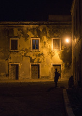 Old Portuguese Colonial Buildings At Night, Island Of Mozambique, Mozambique (Eric Lafforgue) Tags: africa people color history vertical architecture night facade outdoors photography women colonial unescoworldheritagesite unesco stonetown unescoworldheritage thepast oneperson mozambique worldheritage moambique mocambique mozambico eastafrica mosambik colonialbuilding traveldestinations onewomanonly ilhademoambique mozambic colourimage 1people  portuguesecolony nampulaprovince islandofmozambique    moz494 provincedenampula