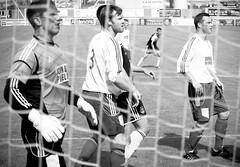 netted (pamelaadam) Tags: summer people bw sport digital visions scotland football aberdeenshire meetup july fotolog inverurie lurkation 2013 thebiggestgroup inverurielocos