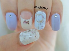 Purple vintage nail wrap (thechichicho) Tags: art girl beauty fashion vintage purple nail nails nailart nailpoish nailwrap uploaded:by=flickrmobile flickriosapp:filter=nofilter