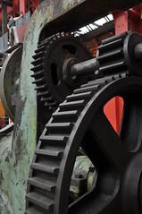 modern times (werewegian) Tags: wheel museum machinery maritime cog irvine ayrshire aug13 werewegian