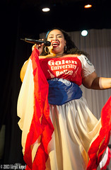 _MG_7357 (Virgil Kapel) Tags: red portrait music woman black art dance galen native belize indian performance caribbean creole suriname mestiza paramaribo universit carifesta galenuniversity