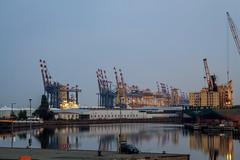 Habour Bremerhaven (Pat Nero) Tags: water germany crane northsea nordsee bremerhaven habour norddeutschland