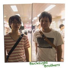 (kasa51) Tags: street leica portrait backlight night brothers f14 olympus panasonic summilux omd 25mm em5