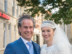 Dutch bridal couple (RuudMorijn-NL) Tags: summer two portrait woman man cute male love netherlands beautiful dutch smiling proud female outdoors happy groom bride engagement couple pretty blauw married dress adult streetportrait marriage happiness husband romance relationship mature together zomer wife romantic dag breda weddingday portret wit dressed vrouw newlyweds huwelijk trots noordbrabant trouwen jonge blij samen trouwdag kostuum plezier lachend feestdag bruidspaar bruid bruidegom bridalcouple gelukkig geluk weddingcouple feestelijk stralend bruidsjurk bruidsfoto wittte