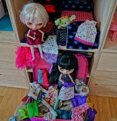 Mess!? No the girls are just looking for clothes
