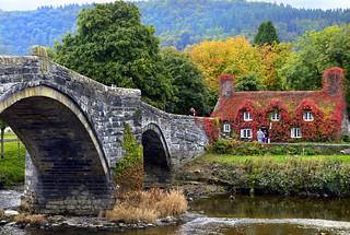 Llanrwst ..Beyond the Bridge Tea Rooms