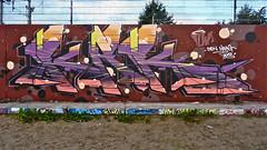 Den Haag Graffiti : (Akbar Sim) Tags: holland netherlands graffiti nederland denhaag thehague agga waldorpstraat hoflaak
