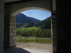 rausgeschaugt Kapelle Weibach Obb (bratispixl) Tags: panorama germany oberbayern kapelle bgl weisbach alpenstrase bratispixl
