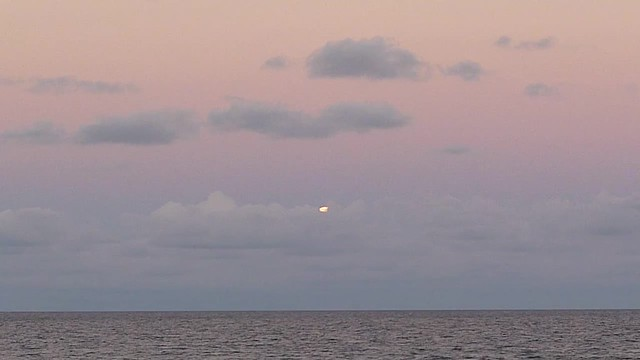 Part I - Full Moon Rise in Boca Raton, FL  - 10.18.13