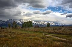 Homesteader barn - Tetons (Jackpicks) Tags: wyoming grandtetonnationalpark mormonbarn slicesoftime mygearandme