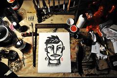 hiroto (Guilherme Kramer) Tags: barcelona people art pessoas arte faces growing paulo ever kramer so humans individual guilherme prolific rostos