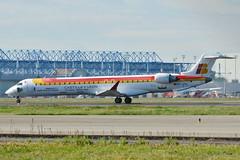 """Canadair/Bombardier CRJ-900 Air Nostrum (ANE) """"Castilla y Leon"""" EC-JTU - MSN 15079 (Luccio.errera) Tags: air msn tls ane nostrum crj900 castillayleon ecjtu 15079 canadairbombardier"""