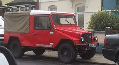 Another UMM (occama) Tags: road red portugal jeep 4x4 off 1986 alter portuguese rare umm cournil d996jkm