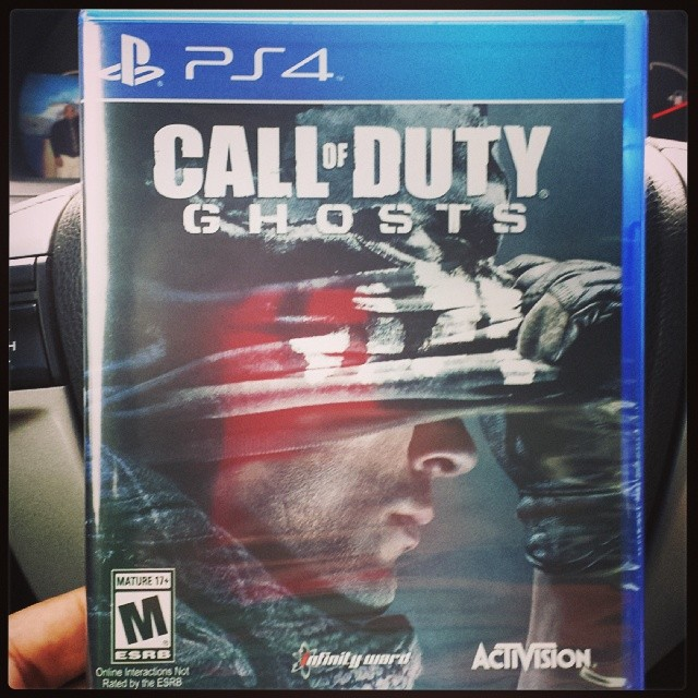 Greatest girlfriend evaaa!!! Call Of Duty Ghosts for PS4 :-) YESSSSSS