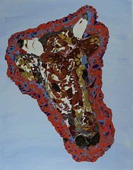 Bull Gold Bronze and Red - Abstract Poured Painting (lanes.paul120) Tags: abstractseascape abstractbutterflies abstractpouredpainting abstractpouredpaintings