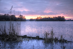 Rietplas (Rene Mensen) Tags: sunset water nikon day cloudy emmen rietplas d5100
