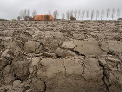 Versgeploegde klei / Recently ploughed clay (Jeroen Hillenga) Tags: netherlands farm farmland clay groningen klei boerderij ploughed akker geploegd versgeploegd