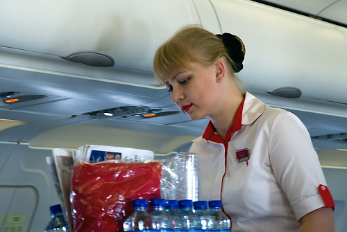 Air Arabia flight attendant