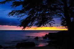 Sunset - Kona Coast HI (fenicephoto) Tags: sunset beach hawaii