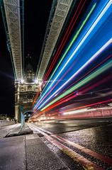 London traffic (grbush) Tags: road longexposure london towerbridge traffic transport traffictrails tokinaatx116prodxaf1116mmf28 sonyslta77