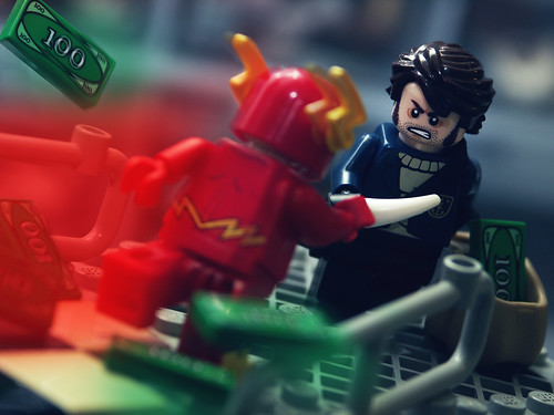 macro photography dc lego minifig dccomics custom theflash barryallen wallywest captainboomerang legoflash andrewcookston christoflash christolego
