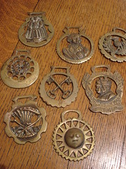 "ASSORTED HORSE BRASSES. • <a style=""font-size:0.8em;"" href=""http://www.flickr.com/photos/51721355@N02/11971199016/"" target=""_blank"">View on Flickr</a>"