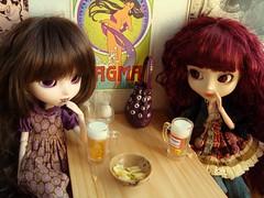 Conspirando  (Bloody Mary) 25 (Lunalila1) Tags: bar outfit crazy doll track handmade wig nakano groove pullip bloodymary kuro vi pasado susumi junplaning stica adsiltia